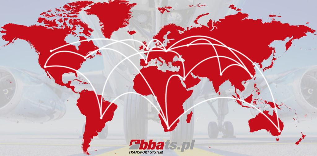 BBA Transport System Transport lotniczy, fracht lotniczy.